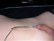 Medical devices (speculum, scissors, catheter, cotton buds and many other) insertion in penis