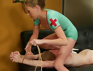 Nurse Audrey makes a house call only to find her patient faking