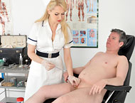 The patient needs to undertake a series of tests to determine his reaction to anal expansion combined with cum extraction